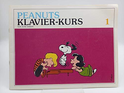 Peanuts Klavier-Kurs 1