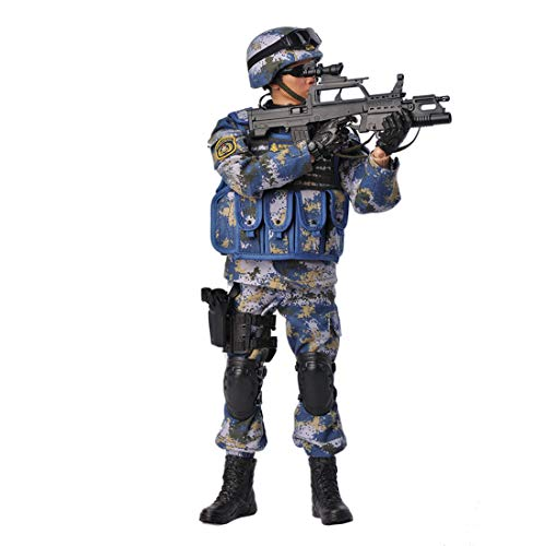 FINER SHOP Soldier Action Figure, 12 inches 1/6 Action Figure Military Model, Marines Flexible Soldier Figure Model with Accessories Collection Army Toys for Kids Adults