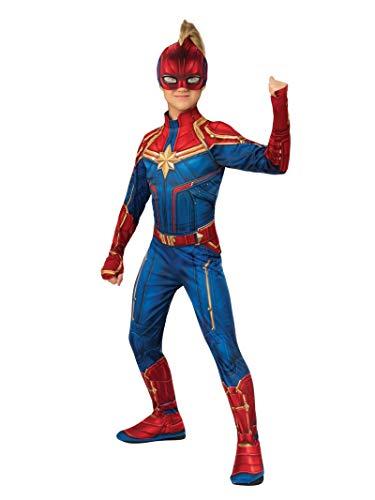 Rubie's - Offizieller Captain Marvel - Hero Anzug, Kinderkostüm