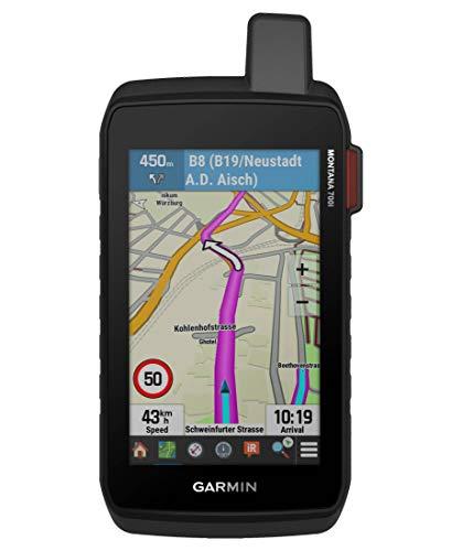 Garmin Bergsport GPS-Gerät Montana 700i schwarz/rot (701) 000