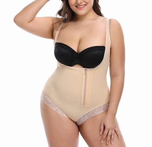 GOWINEU Frauen Body Shaper Abnehmen Unterwäsche Gürtel Bodysuit Taille Shaper Shapewear für Frauen