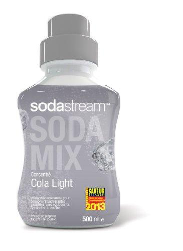 Sodastream Concentré Sirop Cola pour Machine à Soda Light 500 ml