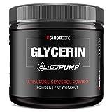 sinob Glycerin GlycoPump 65% - Hochdosiertes Pures Glycerol Pulver aus 100% hochwertigem Markenwirkstoff mit mind. 65% Glycerin. Der Pre Workout Pump Boost für dein Training 1 x 200g