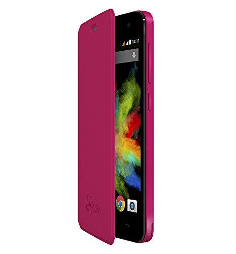 Wiko 3700738103246 - Funda para móvil Wiko Bloom (Altavoces incorporados), rosa
