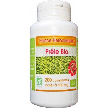 France Herboristerie Prêle Bio 400 mg 200 Comprimés