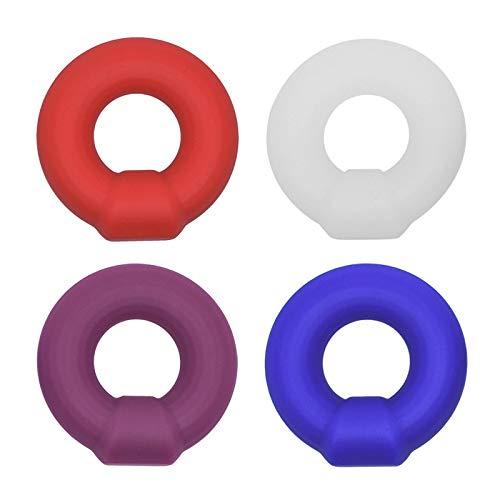 QISON 2pcs / Set Anello da Allenamento in Silicone per Uomo
