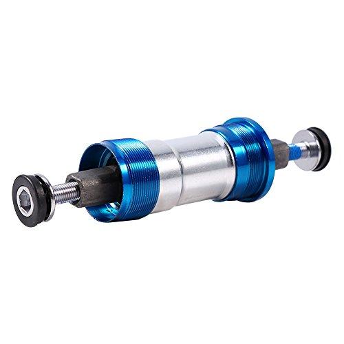 VGEBY1 binnenlager, 68 mm waterdicht compactcartridge binnenlager aluminium bike Pack accessoires voor mountainbike fietsreparatie vervanging