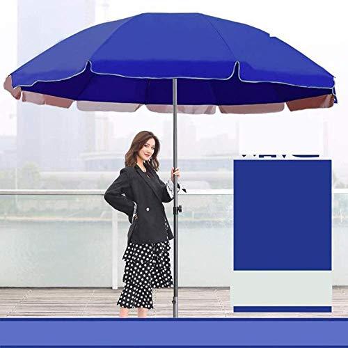 LHYLHY Sombrilla 180Cm + 240Cm sombrilla de Playa sombrilla de balcón sombrilla