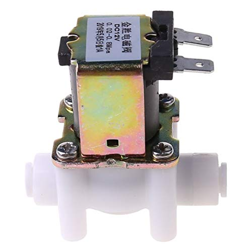 ESUHUANG Electric Solenoid Valve For Water Purifier Refrigerator Normally Closed DC 12V HUANG SHOP