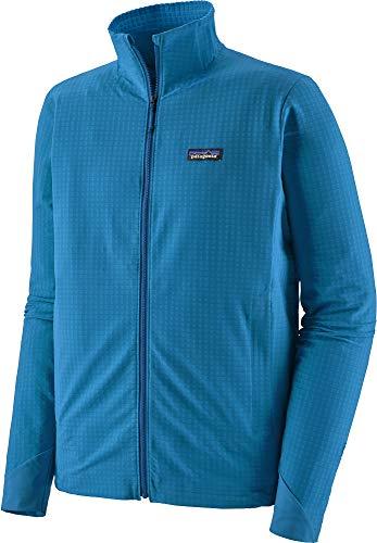 PATAGONIA M's R1 Techface Jkt Giacca Uomo, Uomo, giacca, 83580, Blu (Andes Blue), S
