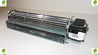 Agripro - Ventilador tangencial (36 cm, motor derecho universal)