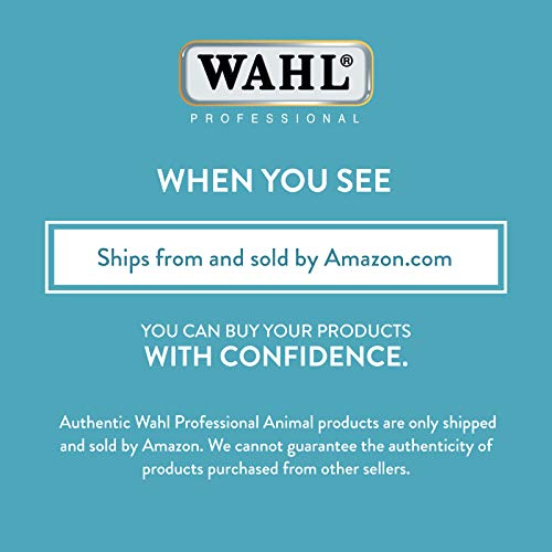 Wahl Professional Animal Deluxe U-Clip Pet, Dog, & Cat Clipper & Grooming Kit...