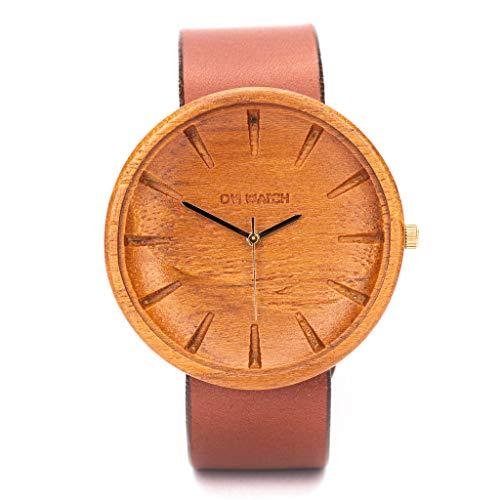 Holzuhr Herren Von Ovi Watch, Minimalistisches Design, Nachhaltige Produkte