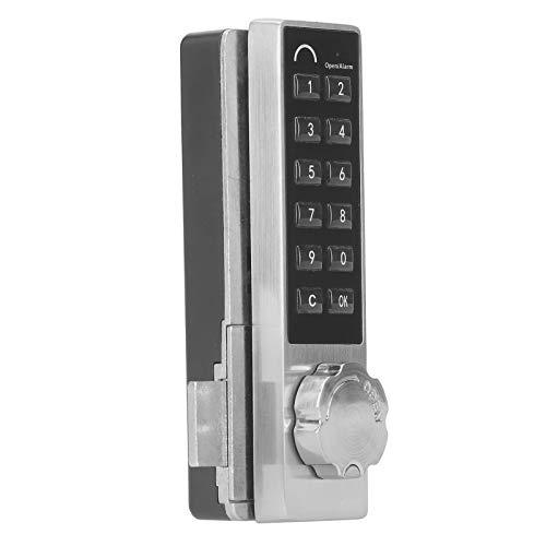 Asixxsix Cerradura electrónica, Cerradura de Teclado con contraseña, 1 a 15 dígitos Dispositivo de Seguridad para el hogar Antirrobo para archivadores Armarios Armarios Sauna