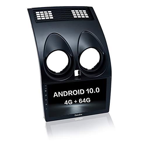 Dasaita autoradio bluetooth per Nissan Qashqai J10 2008 2009 2010 2011 2012 2013 2014 Carplay Android Auto Radio dab GPS WIFI AM FM Android 10.0 stereo auto 4G RAM+64G ROM 9' Touch Screen