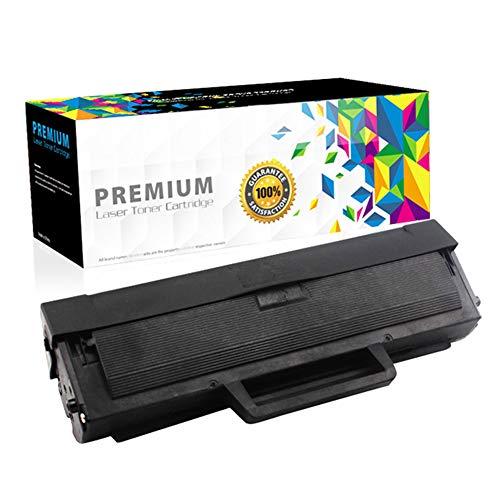 MLT-D1042S - Cartucho de tóner compatible con Samsung ML1666 1660 1661 1665 SCX3200 3201 3205 3206 (1500 páginas), color negro