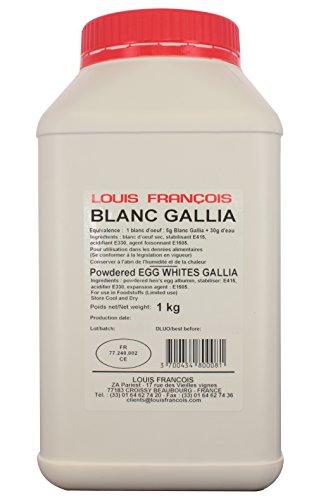 La boutique des pâtissiers Gallia Eierschalen, getrocknetes Ei, 1 kg