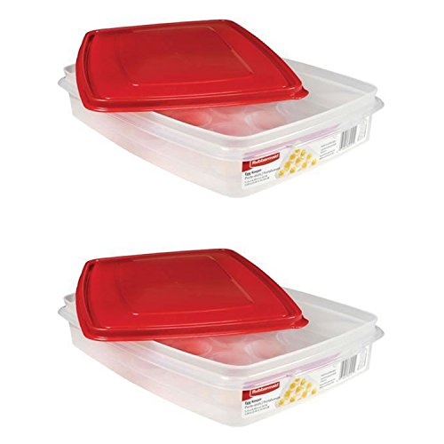 Rubbermaid - Egg Keeper, Holds 20 Jumbo Eggs