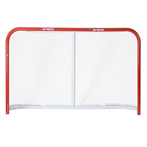 "BASE - Streethockeytor 54"" (137x112x51cm) I klappbar I Outdoor-Tor I Tor mit Metallrahmen I Tor für den Garten I Tor für Hockeybälle & Pucks I Streethockey-Training"