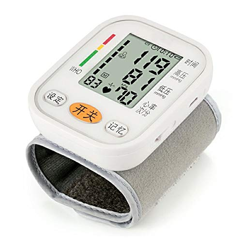 Best Review Of Blood Pressure Monitor Blood Pressure Monitor - Home Medical Elderly Care Upper Arm T...
