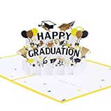 Pop Up Card Graduation Season Greeting Card, 3D Popup Greeting Cards, for Mothers Day, Spring, Fathers Day, Graduation, Birthday, Wedding, Anniversary, Thankful for You, Get Well, All Occasion