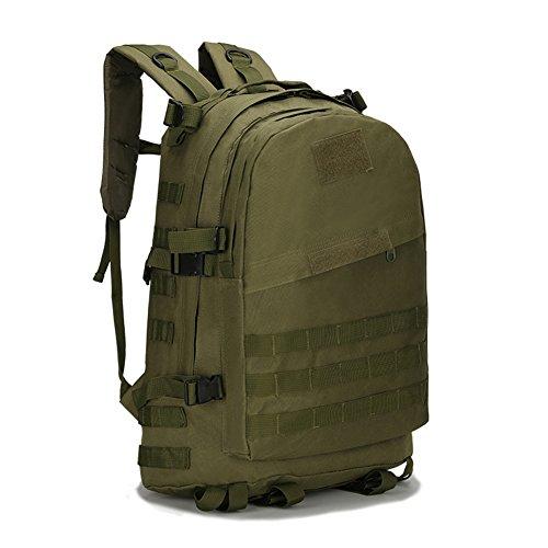 MISSMAO Bolsa táctica militar Combate Mochila Mochila Bergen Molle Paquete Bolsa Todo Terraintype 3 para 46 * 18 * 33 cm Multicolor