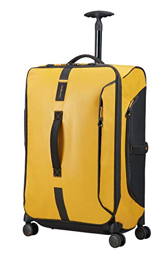 SAMSONITE Paradiver Light - Spinner Duffle Bag 67/24 Bolsa de viaje, 67 cm, 80 liters, Amarillo (Yellow)