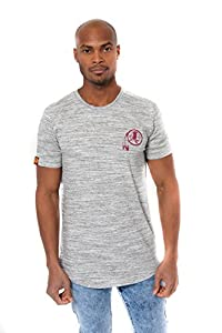 Ultra Game Men's NFL Active Basic Space Dye Tee Shirt, Washington Redskins, Gray Space Dye, Medium
