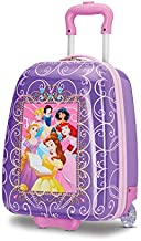 American Tourister Kids' Disney Hardside Upright Luggage, Princess 2, Carry-On 16-Inch