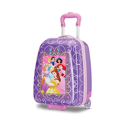 American Tourister Kids' Disney Hardside Upright Luggage, Princess 2, Carry-On 18-Inch