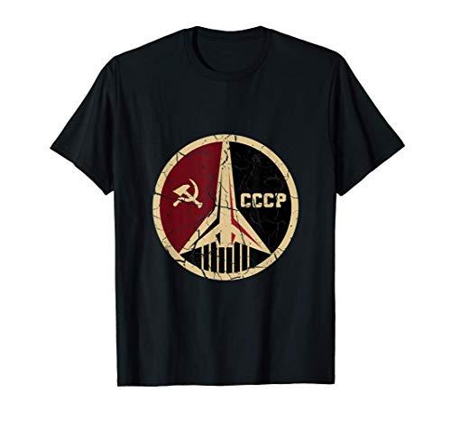 Stolzes CCCP Shirt Vintage Russland Weltraum-Programm T-Shirt