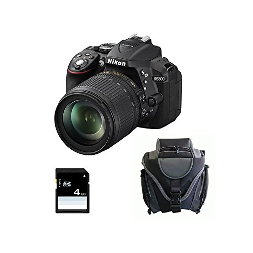 Nikon D5300 + 18-105 VR + SD 4Gb