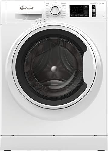 Bauknecht W Active 811 C Waschmaschine Frontalder/ 8kg/ kraftvolle Fleckentfernung/Dampf Programme/Steam Hygiene Option/Steam Refresh/Stop & Add Funktion/Dynamic Inverter-Motor, Weiss