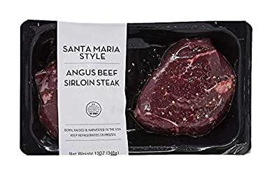 Atkins Ranch Beef Sirloin Steak Santa Maria Style, 12 Ounce