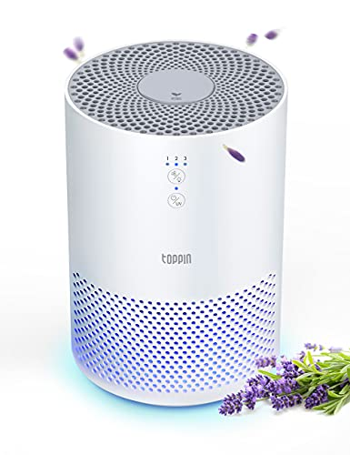 TOPPIN HEPA Air Purifiers for Home - with Fragrance Sponge UV Light