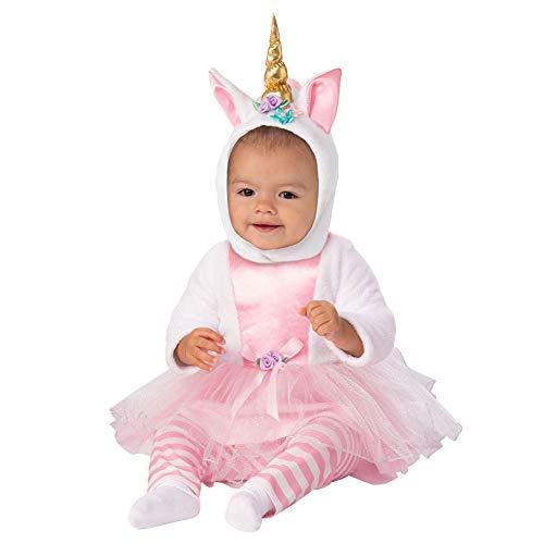 Arca de No Rubie's Disfraz de Lil Unicornio con tut para beb, 6-12 meses, 300724-6-12M