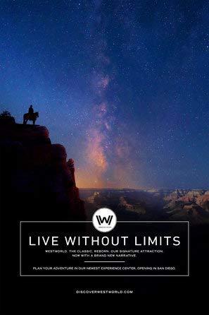 Westworld – Poster Plakat Drucken Bild Poster Print - 30.4 x 43.2cm Größe Grösse Filmplakat