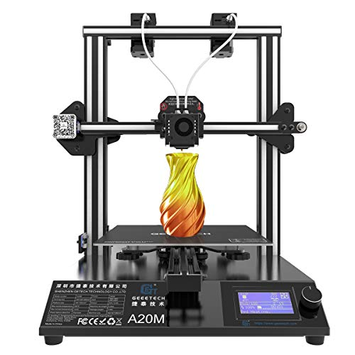 GEEETECH A20M - Impresora 3D de colores mixtos con doble extrusor, volumen de construcción 250 × 250 × 250 mm³, 4.1B motherboard