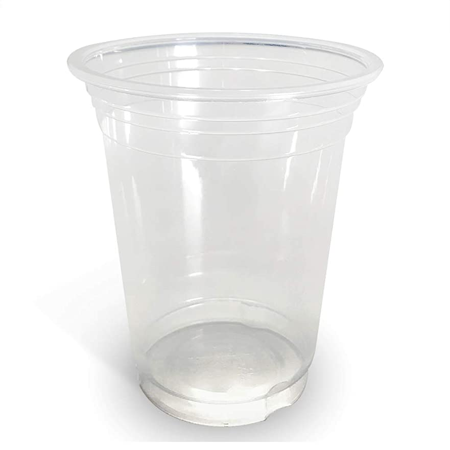 奨励しますガソリン大佐87mm口径プラカップ 12オンス 360cc 2000個 アイス プラスチックカップ