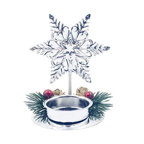 Weihnachten Teelichthalter Hochzeit Tisch Craft Festival Party Herzstück Dekoration