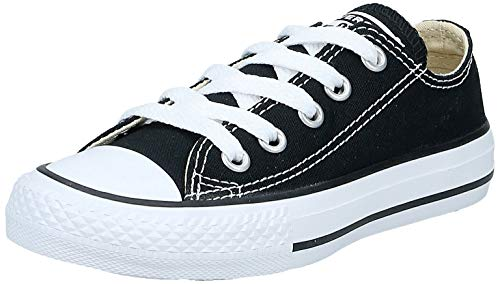 Converse Chuck Taylor All Star, Unisex-Kinder Sneakers, Schwarz (Black), 33 EU