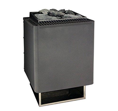 EOS Saunaofen 9,0 kW Thermat Wandofen Leistung: 9,0 kW Saunasteine: 15 kg Steuerung: optional erhältlich Gewicht ohne Steine: 12,5kg elektrischer Anschluss: 400 V