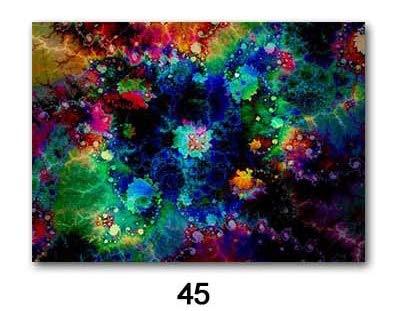 Siebdruck Poster wandbild Psychedelic Acid LSD malerei Wohnzimmer Schlafzimmer Dekoration Dekoration rahmenlose 50x70 cm