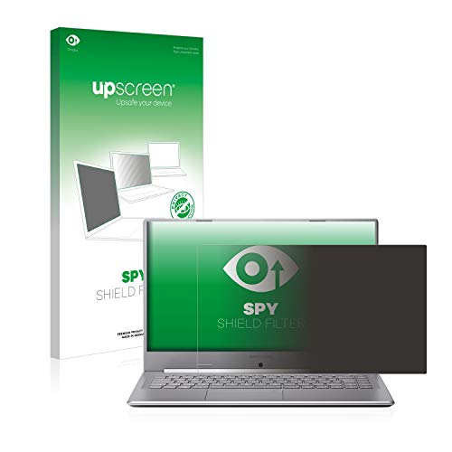 upscreen Blickschutzfilter kompatibel mit Medion Akoya S15449 Privacy Filter - Anti-Spy Blickschutzfolie Sichtschutz-Folie