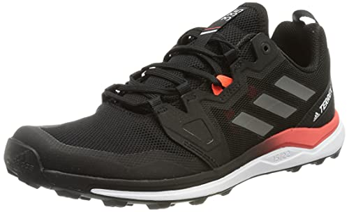 adidas Terrex Agravic, Zapatillas de Trail Running Hombre, NEGBÁS/Gricua/Rojsol, 44 EU
