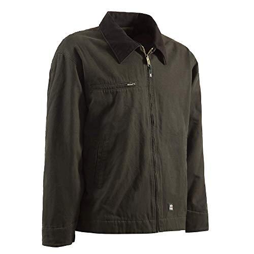 Berne Men's Highland Washed Gasoline Jacket, X-Large...