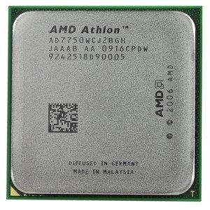 AMD Athlon 64 X2 7750 Kuma 2,7 gHz 2 x 512 KB L2 Cache 2MB L3 Cache Socket AM2 + 95 W Dual-Core edición negro procesador