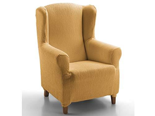 CAÑETE - Funda sillón Orejero JARA - Color Mostaza