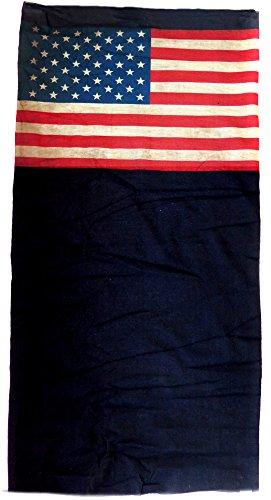 Bandeau drapeau usa us vintage bandana cagoule 12 en 1 foulard serre tete call of duty