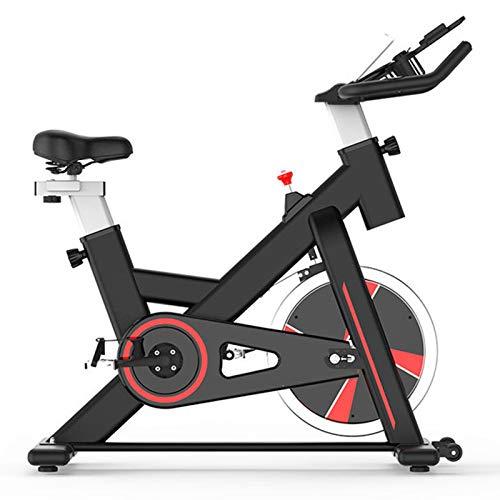 Life HS Bicicleta De Ejercicios De Fitness con Exhibición, Bicicleta De Ejercicios De Resistencia Ajustable con Bandas De Resistencia,Negro